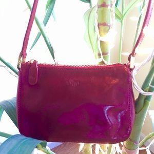 🌺 Monsac crossbody red handbag